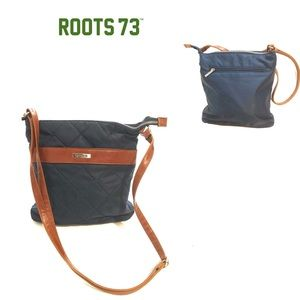 Roots 73 quilted crossbody bag